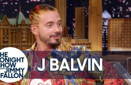 """J Balvin habló con sobre su show con Beyoncé en el Coachella y cantó """"Contra La Pared"""" en el Show de Jimmy Fallon. Cusica Plus."""