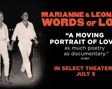 Publican primer trailer del documental de Leonard Cohen 'Marianne & Leonard: Words Of Live'. Cusica Plus.