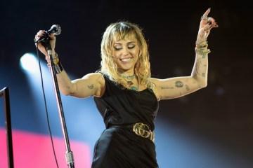Miley Cyrus estrena tres nuevos temas en vivo en la BBC Radio 1. Cusica Plus.