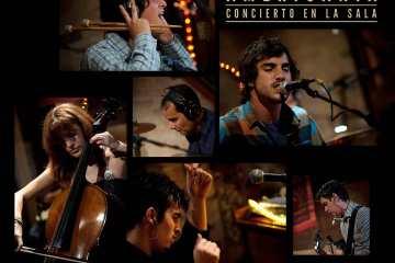 Americania regresa para publicar 'Concierto en la Sala' en las plataformas de streaming. Cusica Plus.