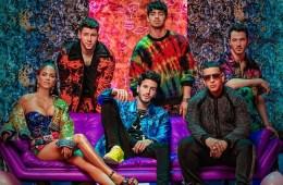 """Sebastián Yatra, Natti Natasha y Daddy Yankee se unen con los Jonas Brothers en el tema """"Runaway"""". Cusica Plus."""