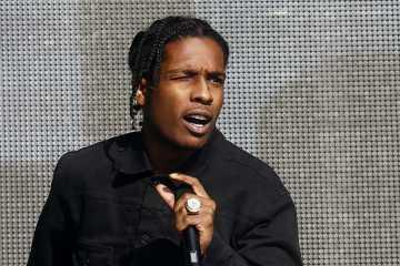 A$AP Rocky es arrestado por involucrarse en una pelea en Estocolmo. Cusica Plus.