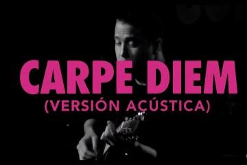 """Viniloversus estrena versión acústica de su tema """"Carpe Diem"""". Cusica Plus."""