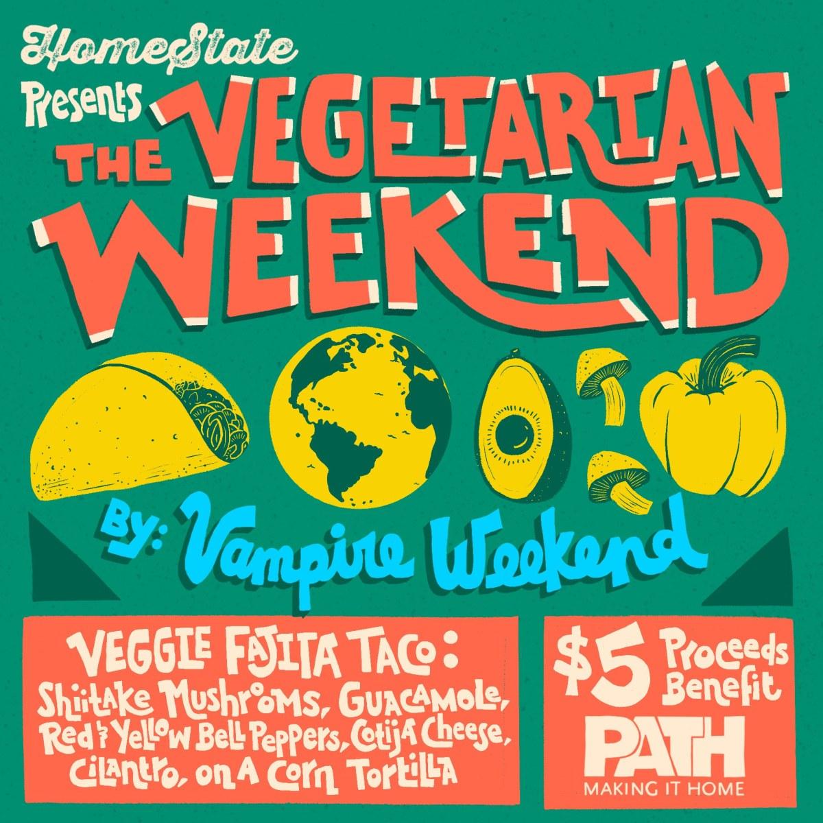 The Vegetarian Weekend by. Vampire Weekend