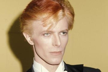 Publicaron la primera foto del 'biopic' de David Bowie - Cúsica Plus