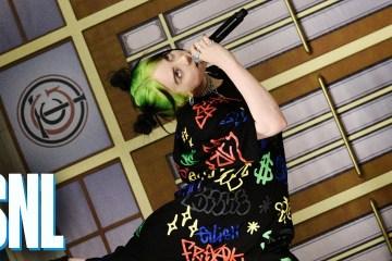 Billie Eilish debutó en el Saturday Night Live con 'Bad Guy' y 'I Love You'. Cusica Plus.
