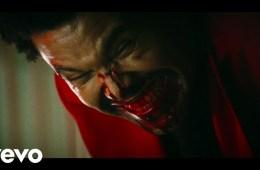 The Weeknd llega sangriento para cantar Blinding Lights en el show de Jimmy Kimmel . Cusica Plus.