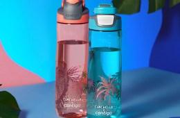 Coachella se une con la marca de botellas 'Contigo', para reducir el uso de plásticos en el festival. Cusica Plus.