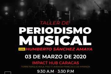 CÚSICA presenta: 'Taller de periodismo musical con Humberto Sánchez Amaya. Cusica Plus.