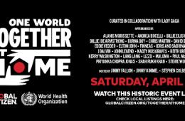 Billie Eilish, Paul McCartney, Lizzo y más, se presentarán en el Global Citizen Livestream. Cusica Plus.