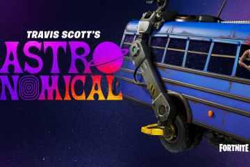 Travis Scott estrenará un nuevo tema en Fortnite. Cusica Plus.