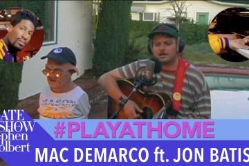 Mac DeMarco estrena nuevo sencillo en vivo. Cusica Pus.