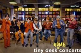 BTS presentó su Tiny Desk desde casa. Cusica Plus.