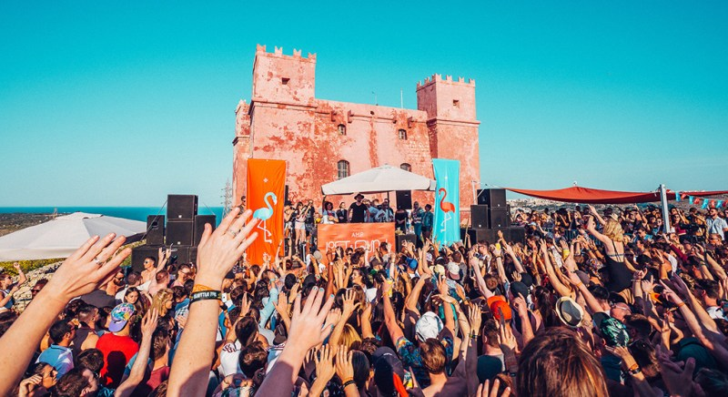 AMP's Lost & Found announce castle rave and boat parties