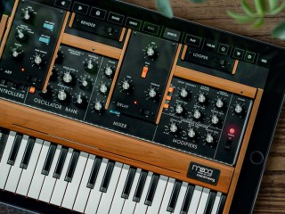 Moog have released an iOS version of their Minimoog Model D