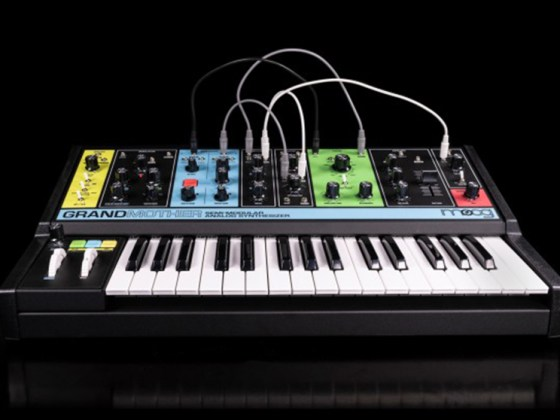 Moog reveal new semi-modular synth 'Grandmother'