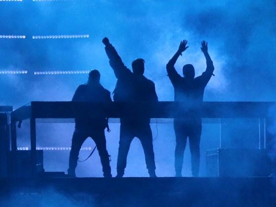 Swedish House Mafia are back in the studio