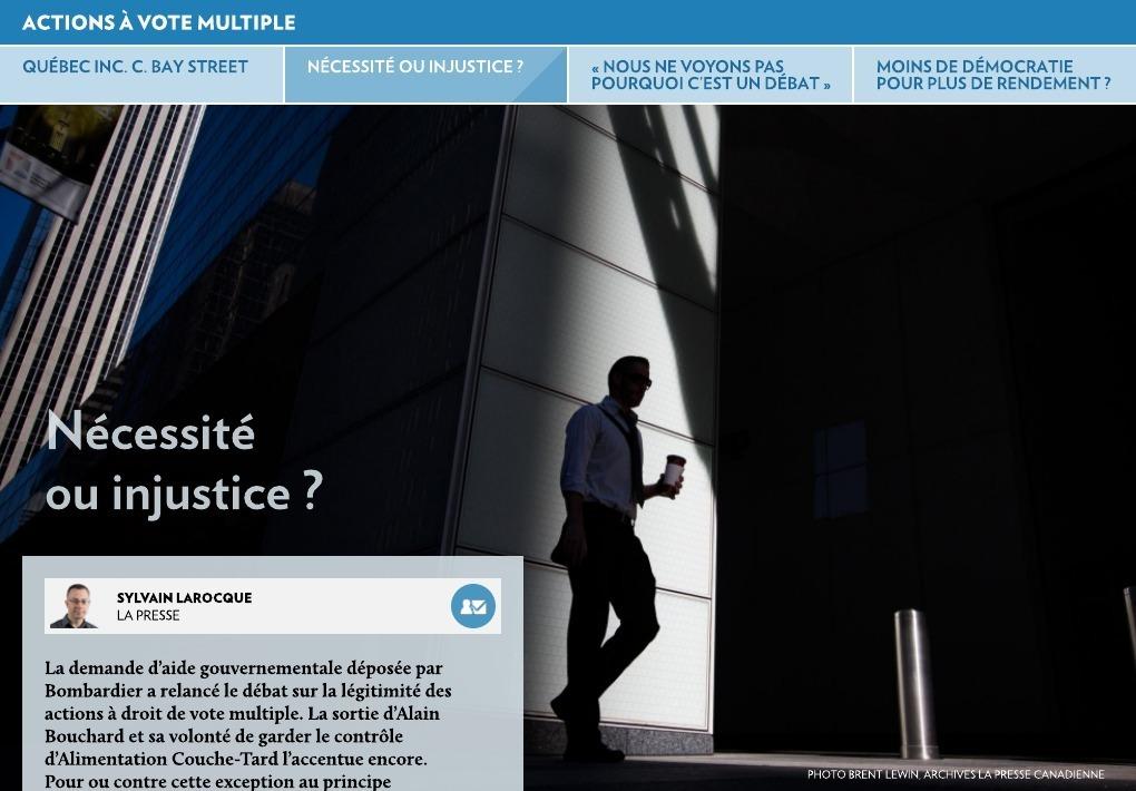 Résultats de recherche d'images pour «classes d'actions à droit de votes multiples»