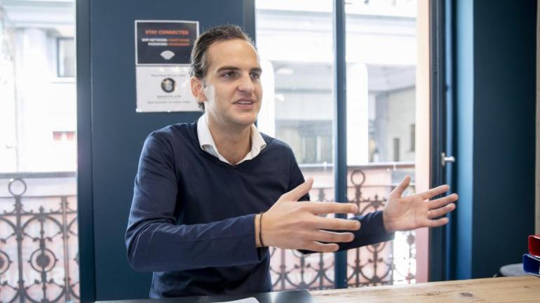 Alex Szmaj, cofondateur de Smartflats, exploite une quinzaine d'immeubles dans la capitale.