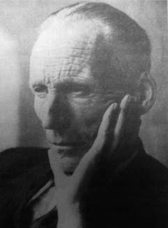 Luitzen Egbertus Jan Brouwer, 1881-1966, thinking hard about crumpled paper.