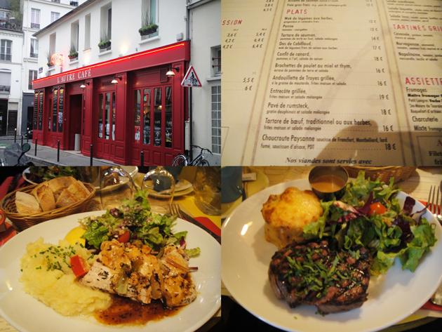 L'autre cafe  ロートル・カフェ パリにしてはお得?!
