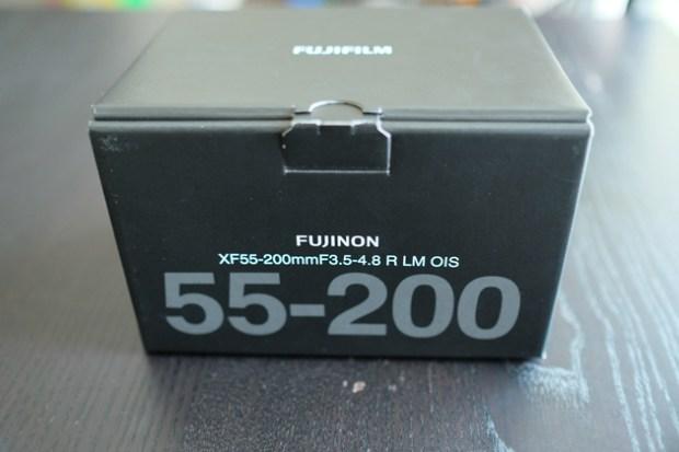 FUJIFILM XF55-200mmF3.5-4.8 R LM OIS 購入 外箱