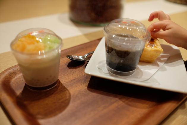 NHK Eクリ@東京ミッドタウン 糖朝でお茶
