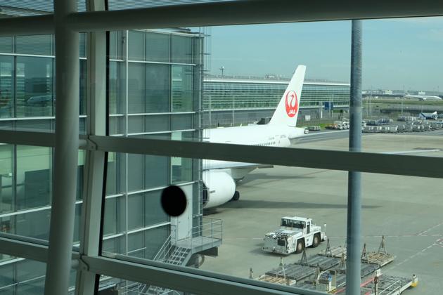 日本航空_JL29_東京/羽田⇒香港_乗る機体