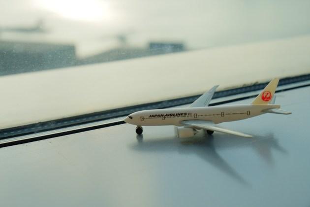 airplane_JALの機内でもらったおもちゃ