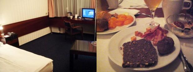 Berlin Excelsior Hotel (BelrinZoo駅近くのホテル) 部屋と朝食