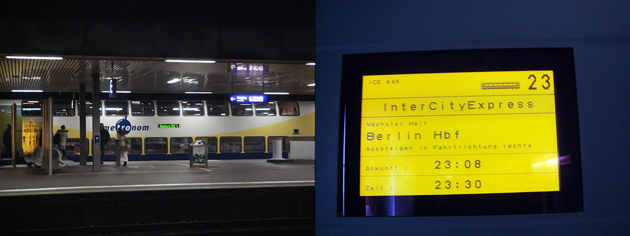 LH186 フランクフルト⇒ベルリン(TXL)のはずが…… ハノーヴァーで乗り換え