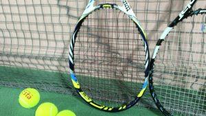 テニス ガット切れ