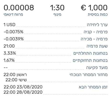 מידע על צמדי מטבעות
