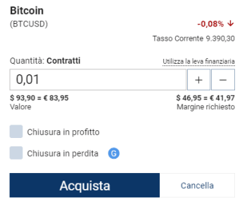 Acquista Bitcoin Plus500