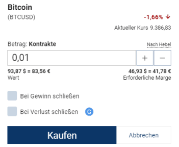 Bitcoins Plus500 kaufen