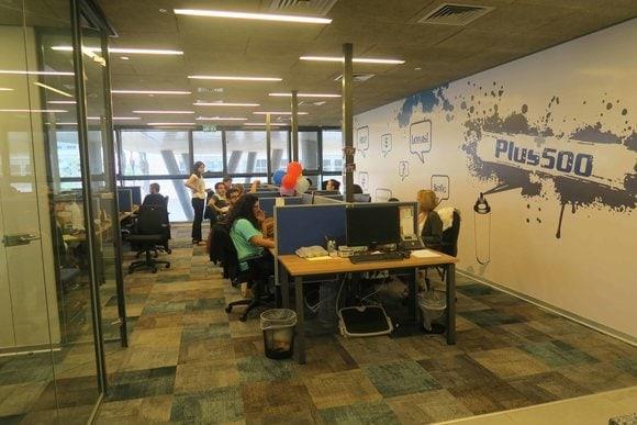 Plus500 kantoor