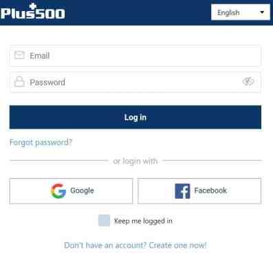 plus500 open account