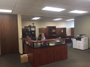 PLUS Reception Area