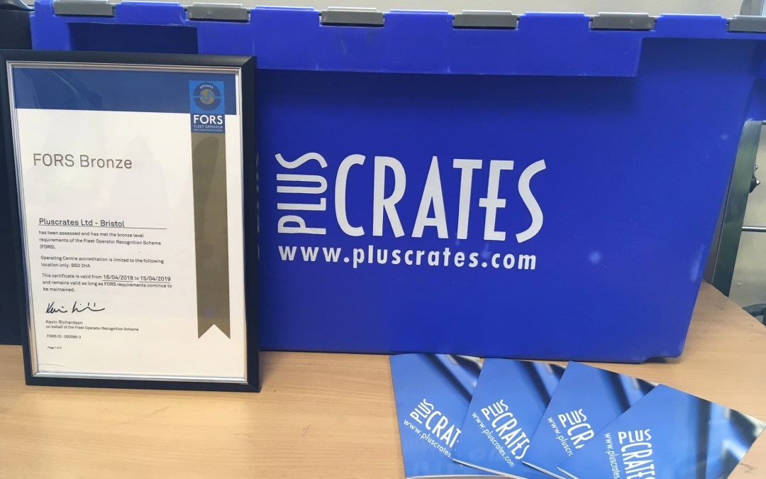 FORS accreditation for Bristol depot