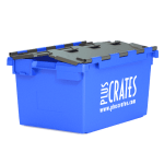 L3C - Blue moving crate with grey lid