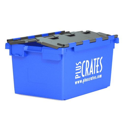 L3C 80L Plastic Moving Crate