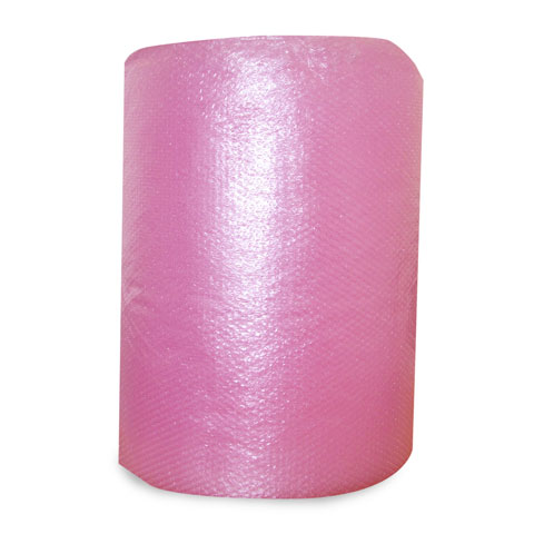 Anti-static Bubble Wrap - Pink Roll