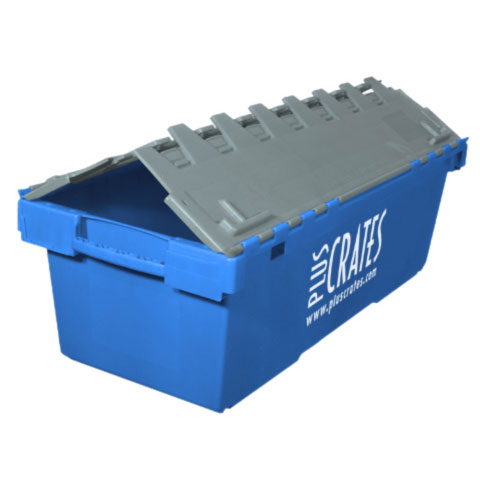 L6 Lidded Crate - slightly open