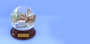 Pluscrates snow globe background