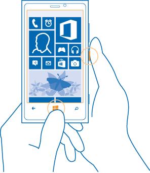 How to take screenshot in windows mobile