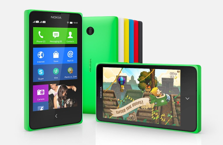 Android Nokia X Dual sim