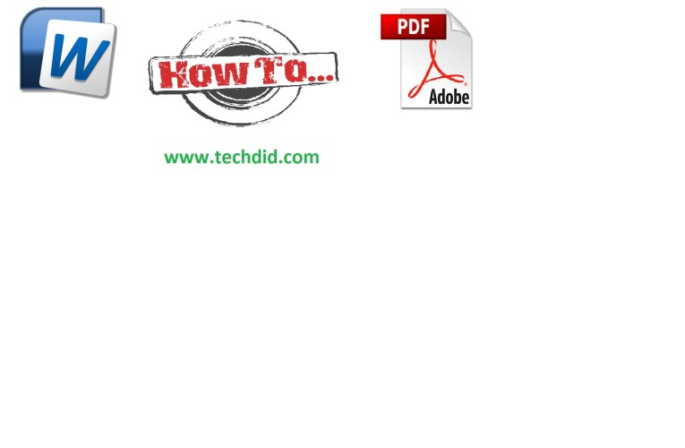 how to convert doc to pdf without software