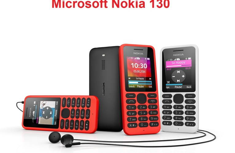 Microsoft launches New mobile : Microsoft Nokia 130