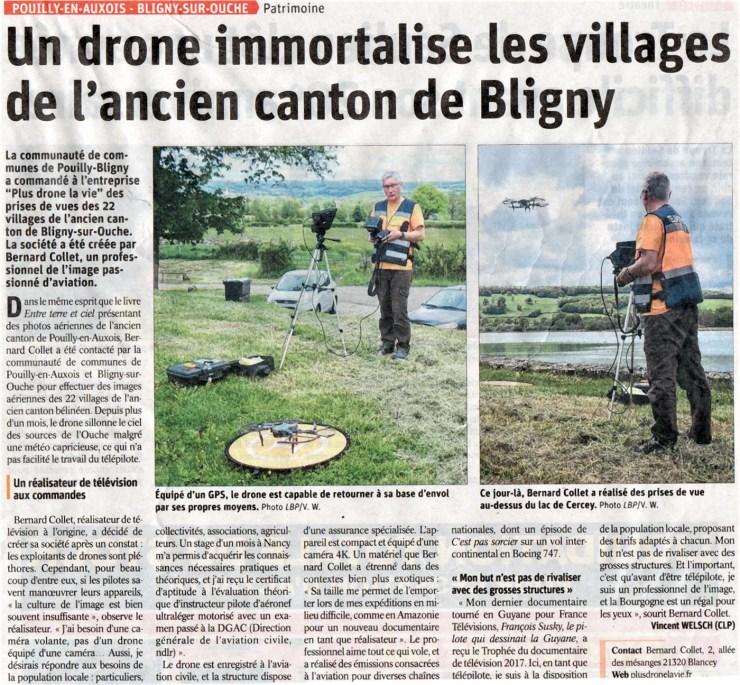 Drones en l'Auxois