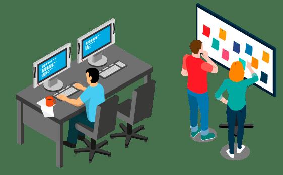 Departamento de informática para desarrollar cualquier adaptación al cliente